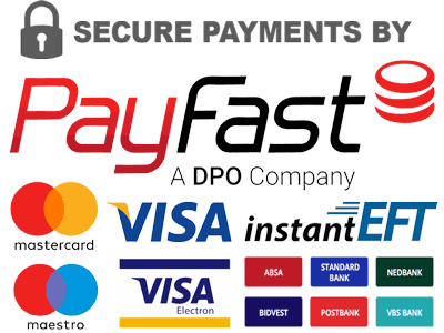 Payments secured by Payfast